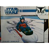 Star Wars Snow Sledge Inflatable X-Wing Fighter