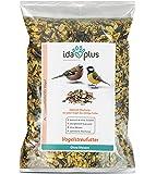 Ida Plus - Vogelstreufutter ohne Weizen für Wildvögel & Vögel - Winterstreufutter - Ganzjahres-Vogelfutter - Optimale Mischung - für jeden Vogel das richtige Futter | Weizenfrei | Fettreich | Energiereich