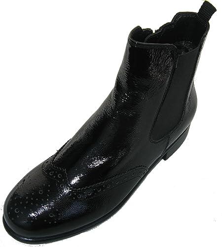 e56d6395 ARA Liverpool-St Women's Chelsea Boots Black Size: 8.5 UK: Amazon.co ...