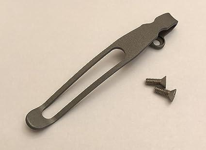 Amazon.com: Titanio Deep Carry Clip para bolsillo para ...