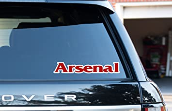 Arsenal Car Sticker