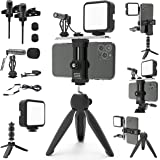DREAMGRIP Scout MOJO Modular Rig Kit 2020 with 3 Microphones, LED Light and All-in Accessories Set for PRO Video…