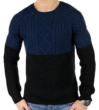 ANTONY MORATO - Kollektion 17 Herren Strickpullover Pullover Modelle 1-3  1773 (Blau/Rot): Amazon.de: Bekleidung