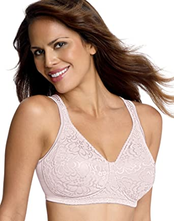 024e44f6655 Playtex 18 Hour Ultimate Lift   Support Wirefree Bra at Amazon Women s  Clothing store