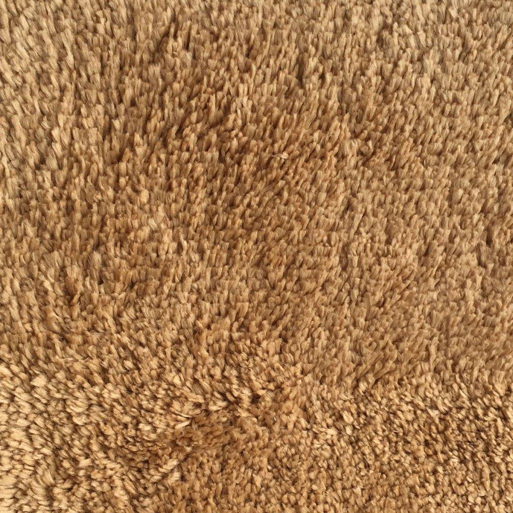 Mohawk Home Cut To Fit Royal Velvet Plush Bath Carpet, Pure Gold, 6 by 10 Feet