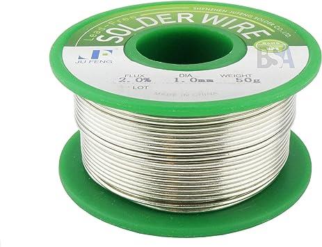 100 g Filo di stagno Sn99.3Cu0.7 per saldatura elettrica NYKKOLA 2 mm senza piombo