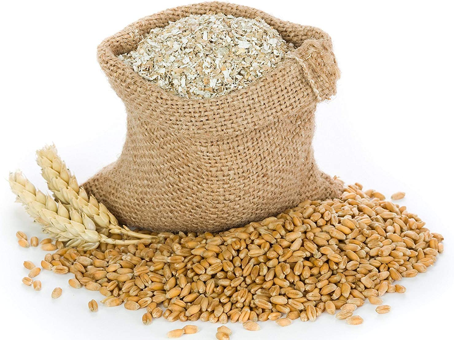 Lancaster County Organic Farms 10LB Wheat Bran Bedding, Food for Mealworms and Superworms