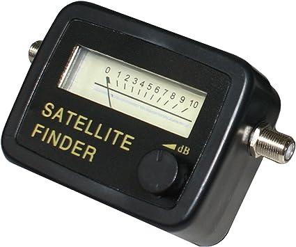 Antena parabólica buscador de señal/Fuerza M, Sky HD, Freesat instalación
