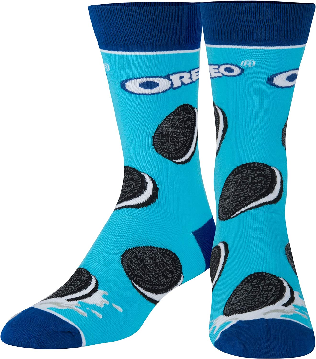 Cool Socks, Unisex, Food, Snacks Cookies Chips, Crew, Novelty Funny Crazy Silly Retro