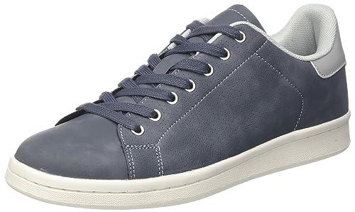 BATA 849162, Sneaker a Collo Alto Uomo, Blu, 41 EU