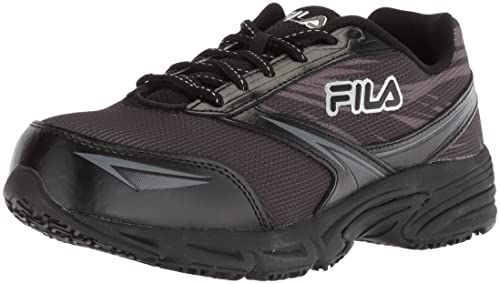 Fila Women s Memory Reckoning 8 Slip Resistant Steel Toe Running Shoe Food Service