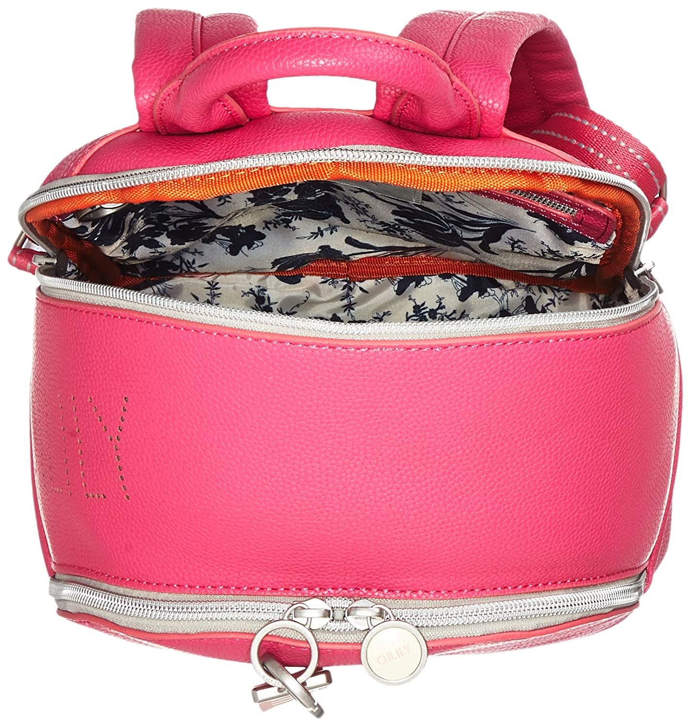 Oilily - Airy Backpack Mvz, Mochilas Mujer, Rosa (Pink (Pink)), 13.0x33.0x22.0 cm (B x H T): Amazon.es: Zapatos y complementos