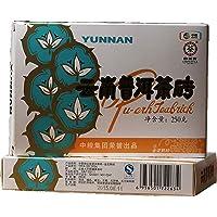 中茶 中粮集团 普洱茶 熟茶 2015年 金花熟砖 销法砖 茶砖 250克