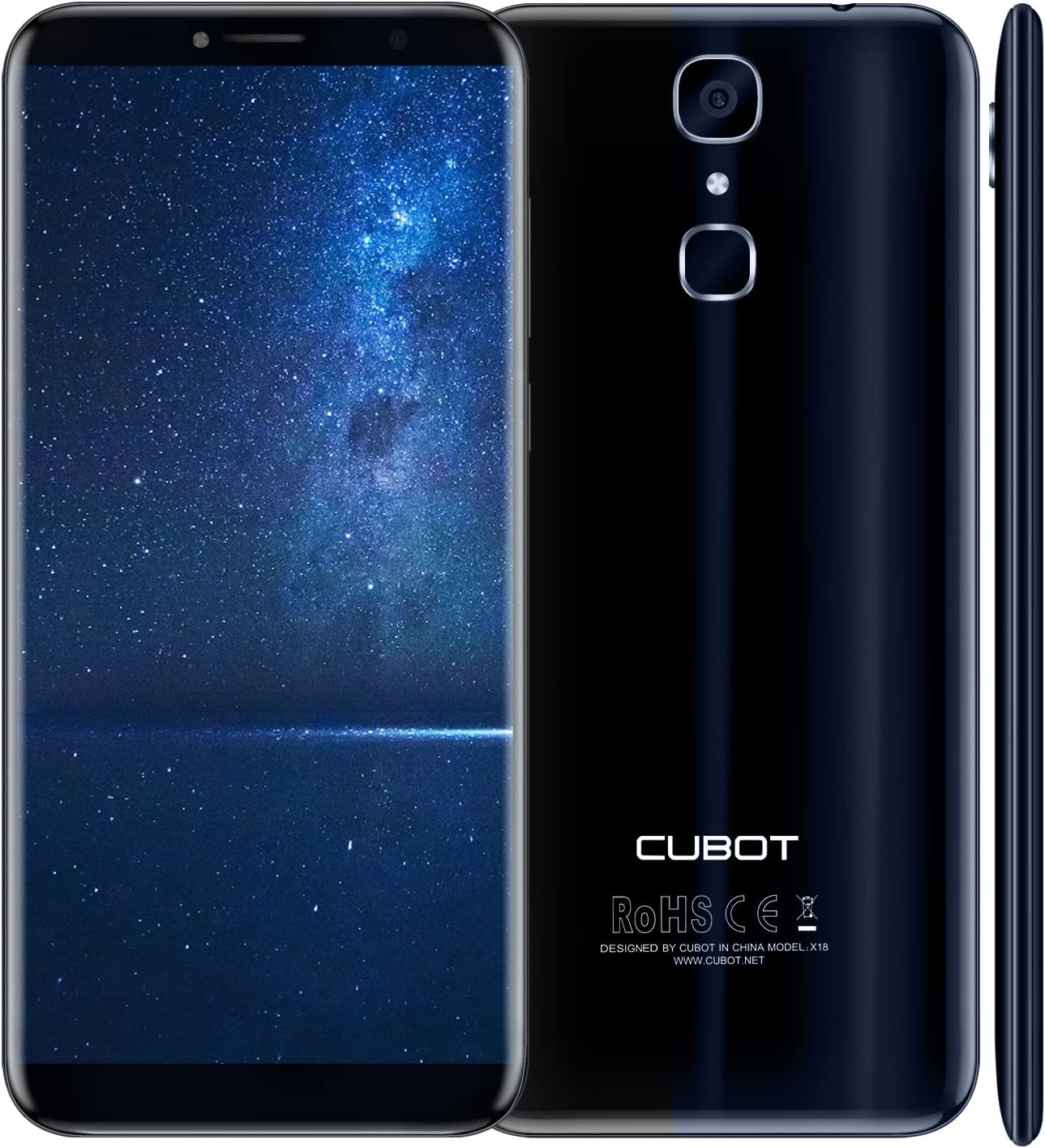 CUBOT X18 - Smartphone Libre 4G Android 7.0, (Pantalla táctil 5.7 ...