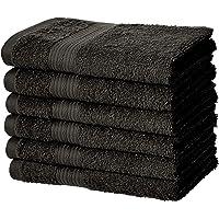 AmazonBasics Fade-Resistant Cotton Hand Towel