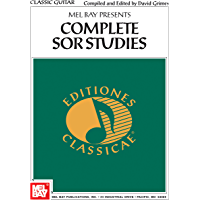 Complete Sor Studies for Classic Guitar (English Edition)