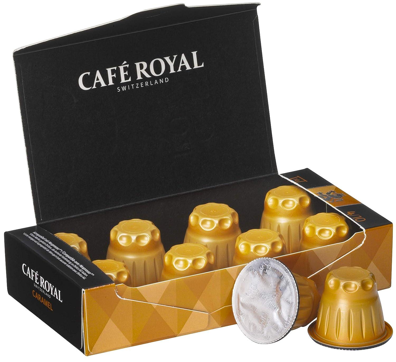 Café Royal Flavoured Edition Caramel cápsulas compatibles con Nespresso* Intensidad: 10 cápsulas: Amazon.es: Alimentación y bebidas