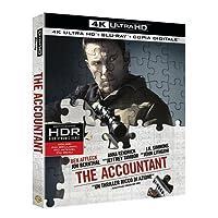 The Accountant  (Blu-Ray 4K Ultra HD+Blu-Ray) [Blu-ray]