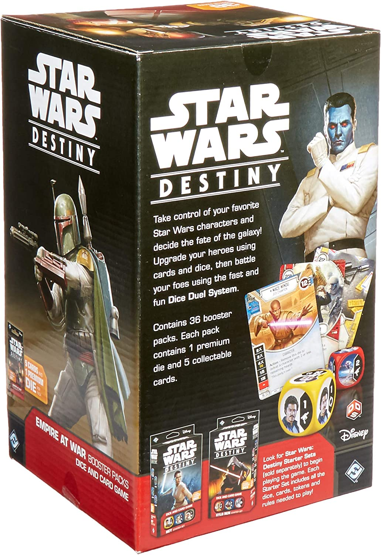 Star Wars Destiny Empire at War Complete 2x each card Set 320 Cards Super Saga