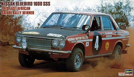 Amazon.com: Nissan Bluebird 1600 SSS 1970 East African Safari Rally Winner (Model Car): Toys & Games