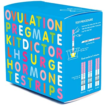 PREGMATE 50 Ovulation Test Strips LH Surge Predictor Kit (50 LH)
