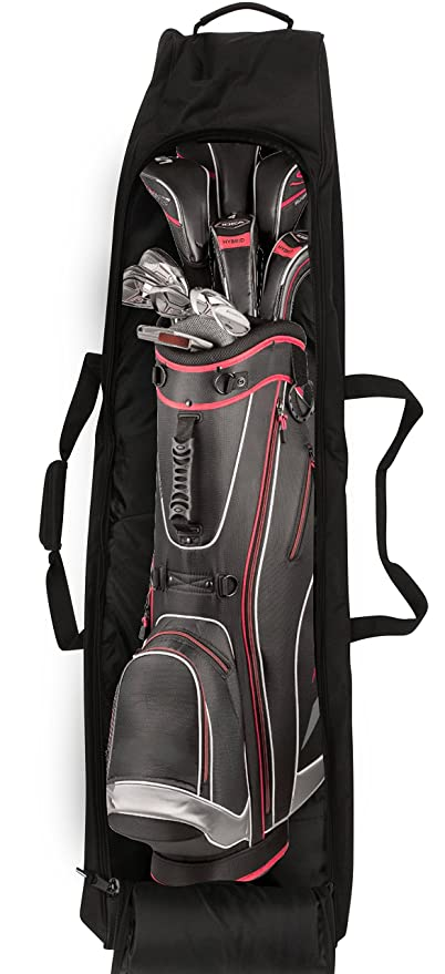 Athletico Padded Golf Travel Bag - Golf Club Travel Cover to Carry Golf Bags and Protect Your Equipment On The Plane …