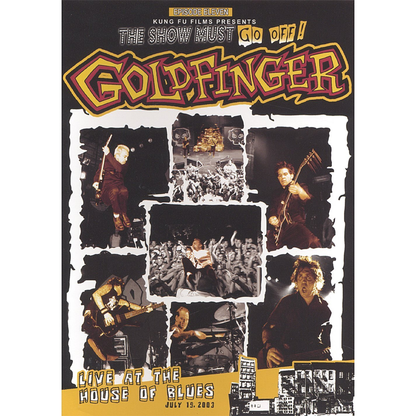 amazon com goldfinger live at the house of blues goldfinger amazon com goldfinger live at the house of blues goldfinger movies tv