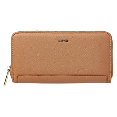 57e651e21 Parfois Zip Around Wallets for Women, Camel: Amazon.ae