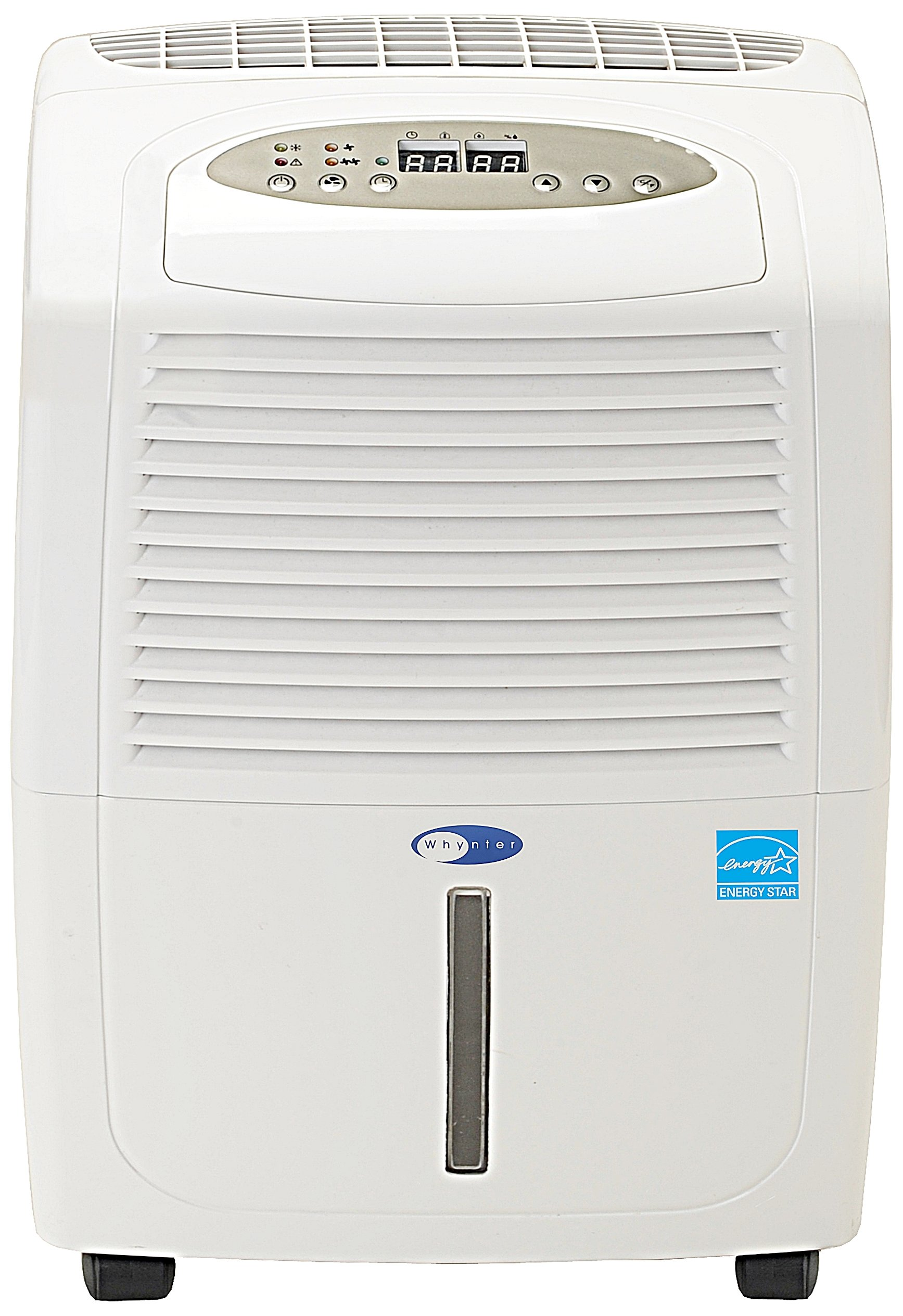 Whynter RPD-302W Energy Star Portable Dehumidifier, 30-Pint by Whynter
