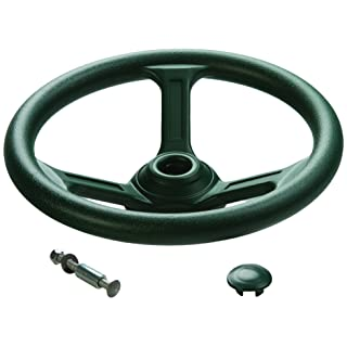 CREATIVE CEDAR DESIGNS Playset Steering Wheel Accessory- Green, One Size