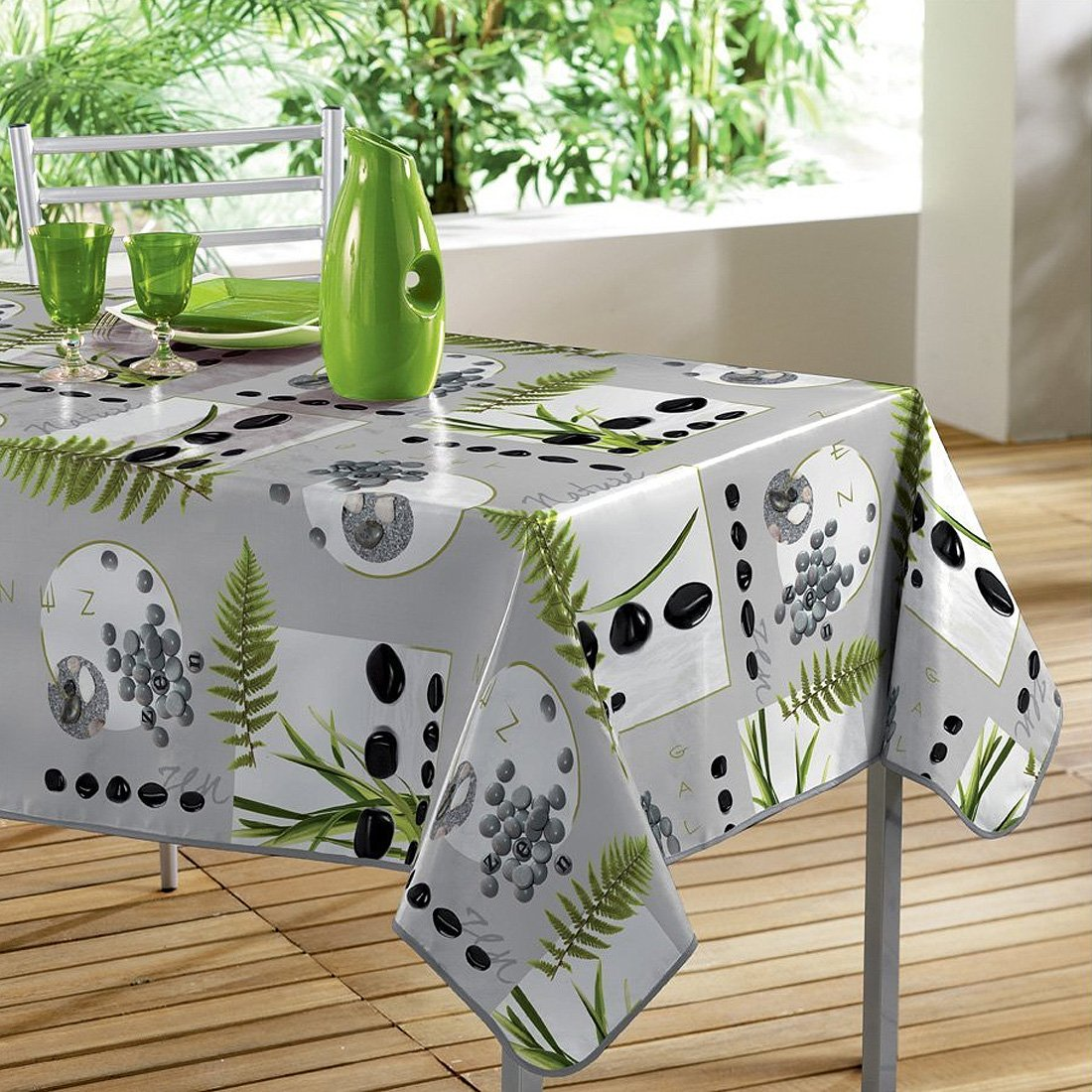 Nappe table rectangulaire - Nappe anti tache pas cher ...