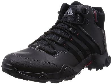 adidas CW Ax2 Beta Mid, Botas de Senderismo para Hombre, Negro (Negbas/Grivis/Rojpot), 50 2/3 EU: Amazon.es: Zapatos y complementos