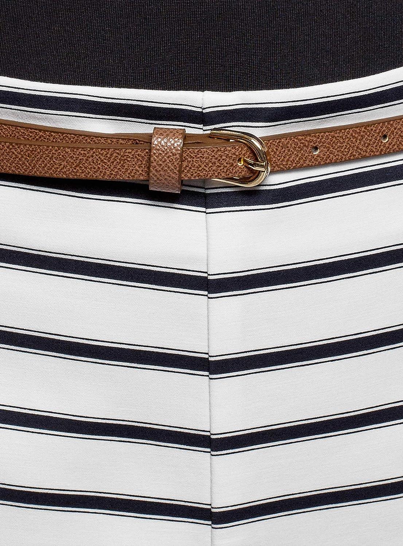 oodji Ultra Donna Pantaloncini in Cotone con Cintura