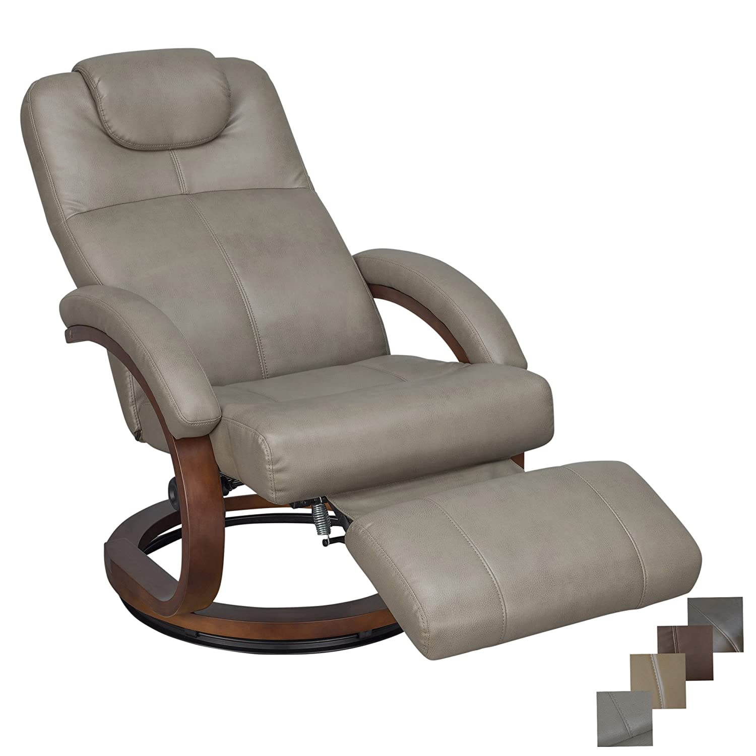 Rv Chairs Recliners >> Recpro Charles 28 Rv Euro Chair Recliner Modern Design Rv Furniture 1 Putty
