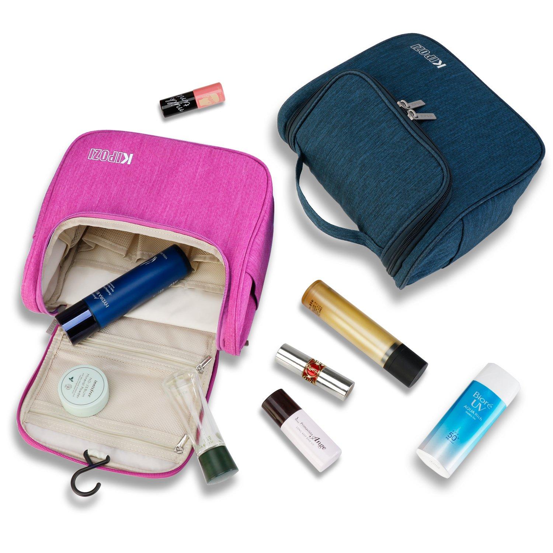 d258e714e18 KIPOZI Hanging Toiletry Bag for Men    Women, Waterproof Toiletry Organizer  For Travels,