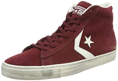 284af042ed72 Converse Men's Pro Vulc Distressed Hi-Top Trainers: Amazon.co.uk ...