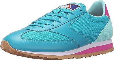 Brooks Womens Speed Varsity Vanguard Running Sneaker, Capri Breeze, 6 B(M)