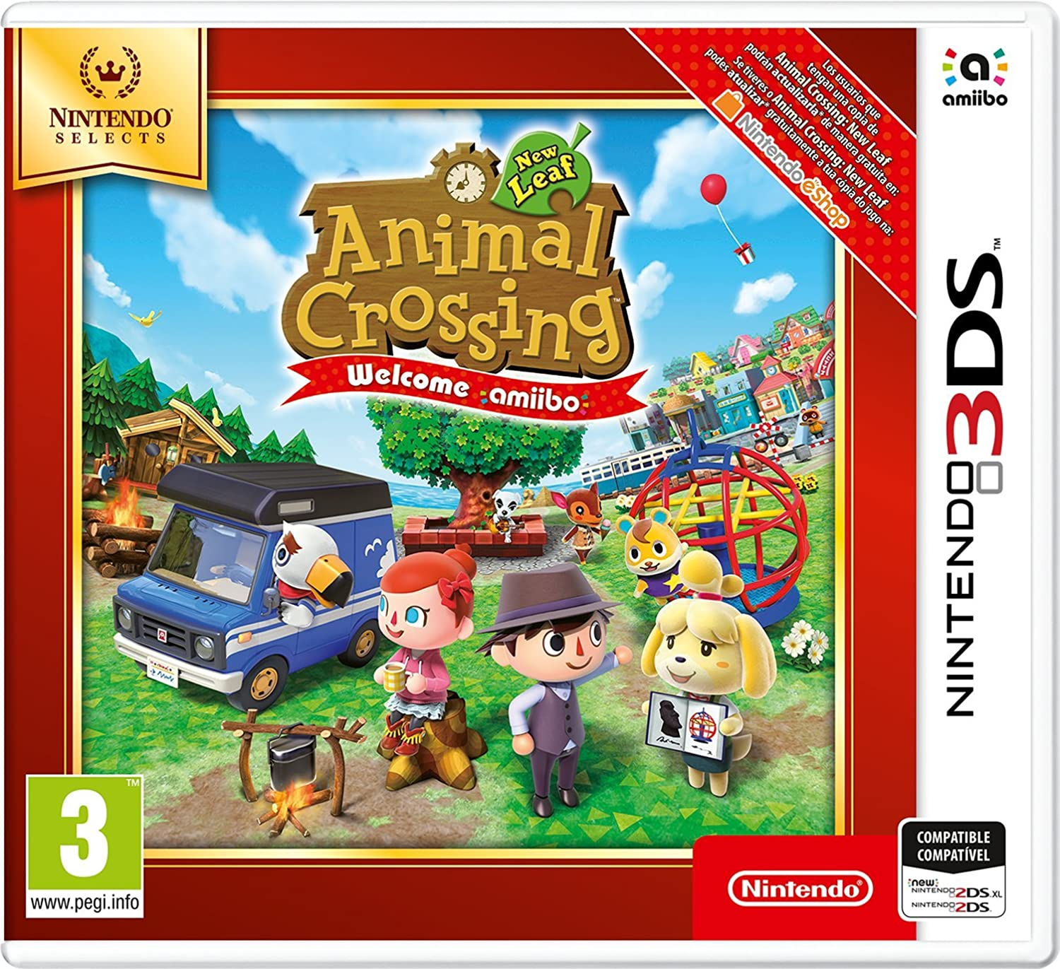 Animal Crossing New Leaf Welcome Amiibo SELECTS & Donkey Kong ...