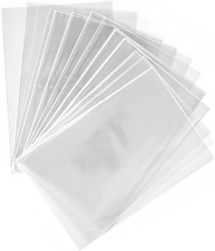 Cookie Office Stationery Storage Bags,Arts /& Crafts Soap Candle E-Uli 100 Pcs 61//4x9 Clear Resealable Cello//Cellophane Bags Good for Bakery,Favors