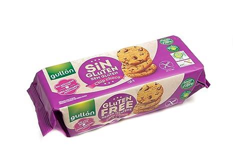 Chip Choco Gullón Galletas Sin Gluten Y Sin Azúcar - 130 g ...
