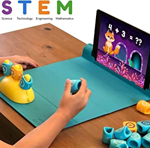 Shifu Plugo Count - Math Game with Stories & Puzzles - Ages 5-10 - STEM Toy   Augmented Reality Based Cool Math Games for Boys & Girls (App Based)