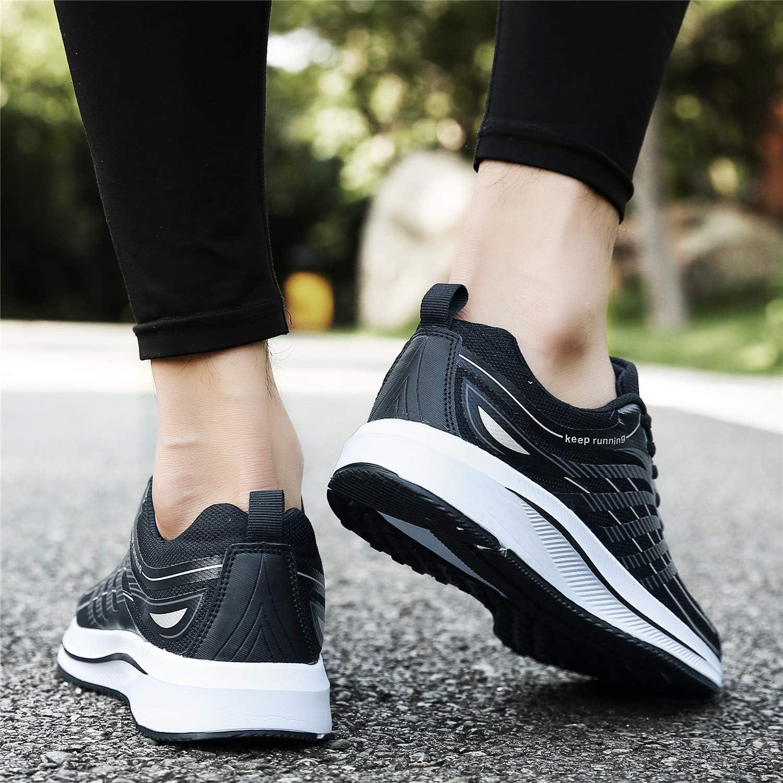 SOLLOMENSI Laufschuhe Herren Sportschuhe Turnschuhe Joggingschuhe Sneakers Freizeit Schuhe Outdoor Stra/ßen Traillauf Fitnessschuhe Trainers