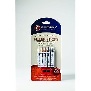 Guardsman Wood Repair Filler Sticks 5 Colors Plus
