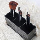 Makeup Brush Holder Organizer, 3 Slot Make Up Brush
