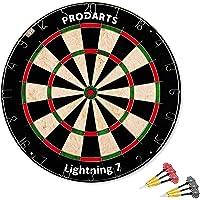Diana Dartboard Leightning 7 – Tamaño Oficial de Competición: 451 mm de diámetro, 38 mm de Grosor - Diana de Cerdas…