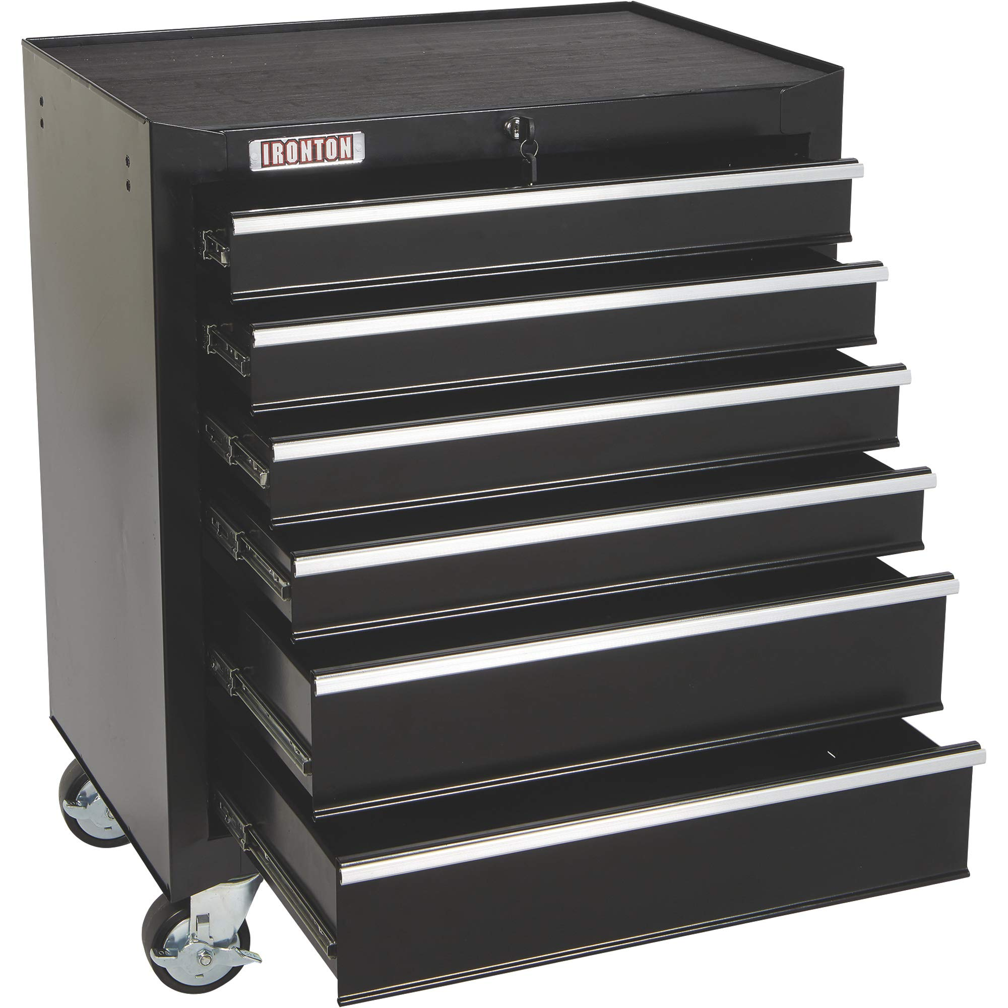 Ironton 26in. 6-Drawer Rolling Tool Chest - 26.75in.W x 18in.D x 33.3in.H by Ironton (Image #6)