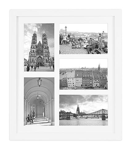 dorado State Arte, 11,6 x 13,7 Collage Marco de madera foto en ...