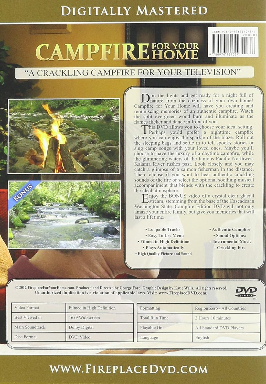 amazon com campfire for your home dvd bonus edition george
