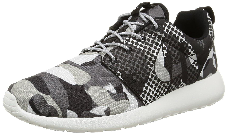 Nike Roshe One Print, Zapatillas de Running para Hombre 43 EU Varios Colores (Blanco / Negro / Gris (Smmt White / Blk-drk Gry-wlf Gry))