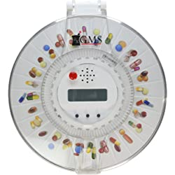 GMS Med-e-lert - 28 Day Automatic Pill Dispenser